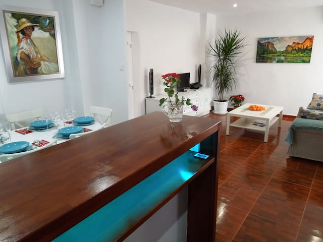 The apartment the historic center of Xativa