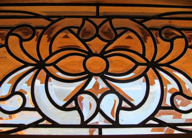 stained glass detail
