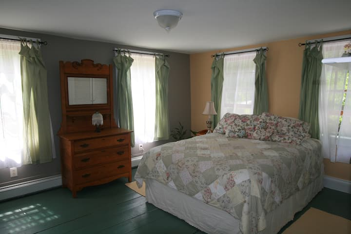 Guest Room in Renovated Farmhouse