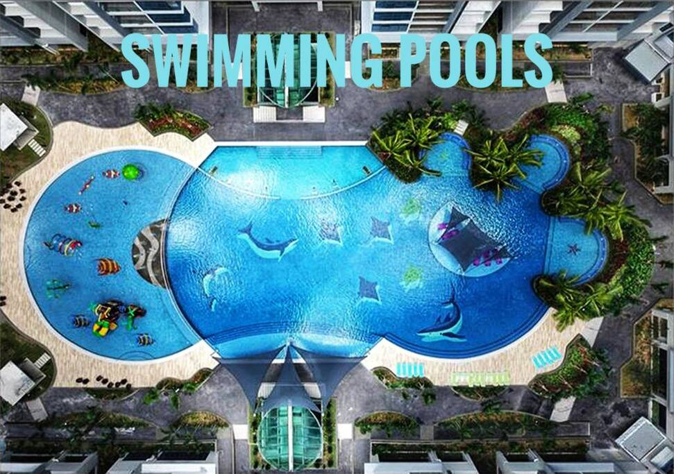 Swimming pool & Child pool located at level 7