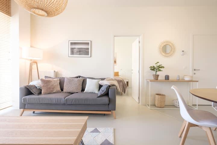 Bel appartement avec terrasse proche centre ville