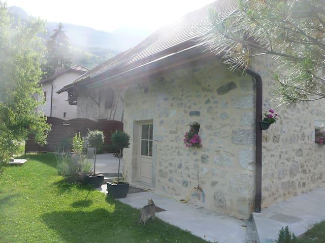 jolie maison en pierre rénovée - Jongieux