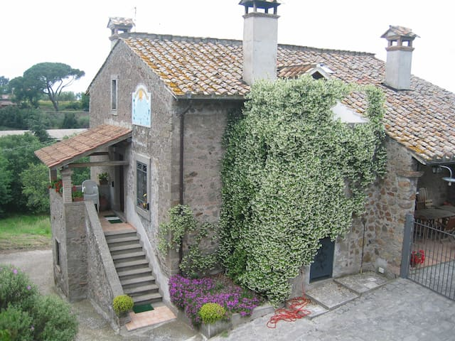 "Country House ""Aurora"" - Viterbo - Casa"