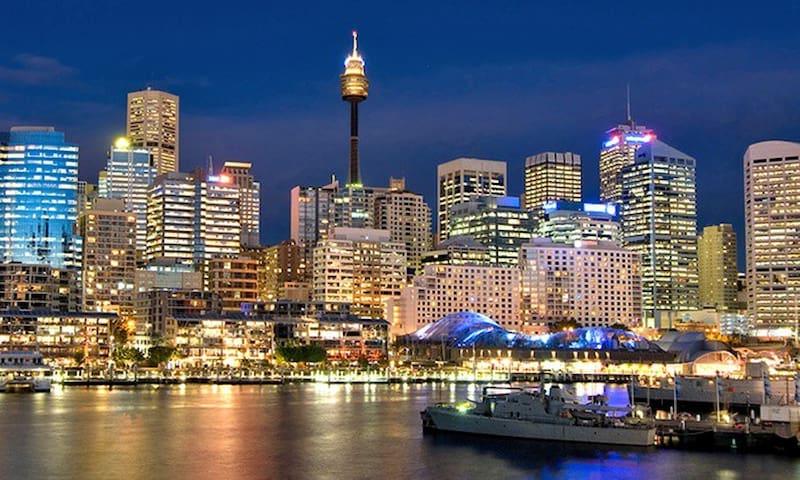 书香、美景、悉尼市中心的高层景观公寓