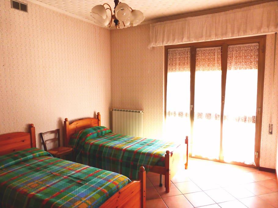 Camera doppia con letti singoli - Twin bedroom