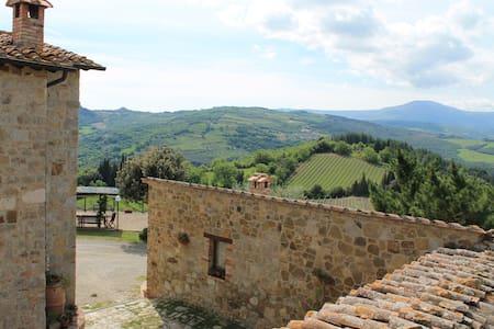 Agriturismo IL PODERUCCIO monolocale - Castiglione d'Orcia