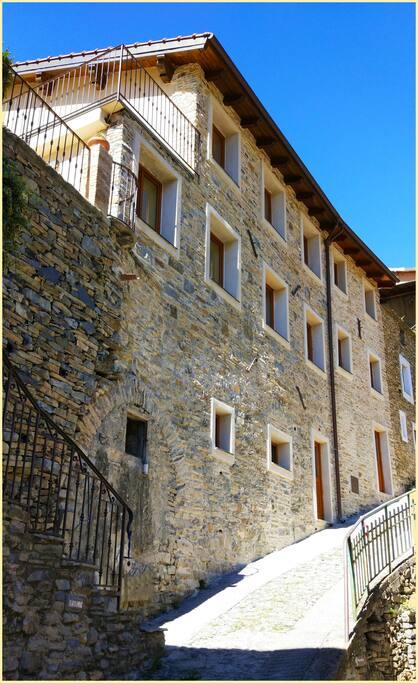 la casa in pietra