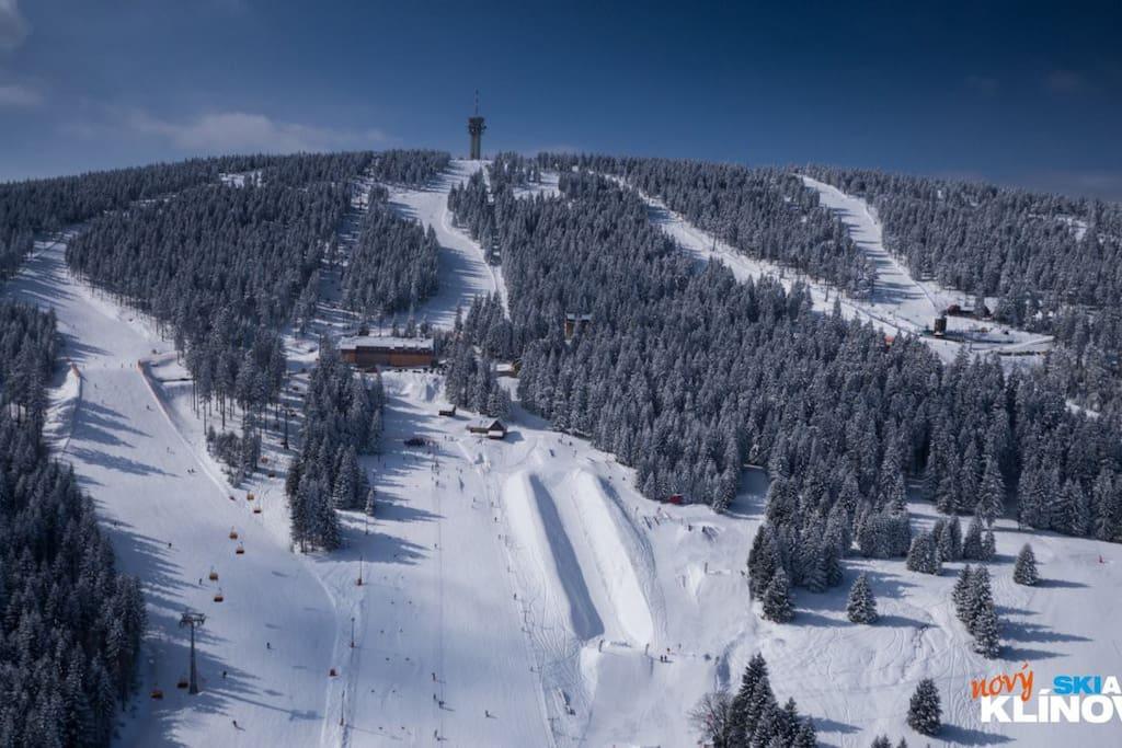 skiarea Klinovec only 3 km from apartment Mathis
