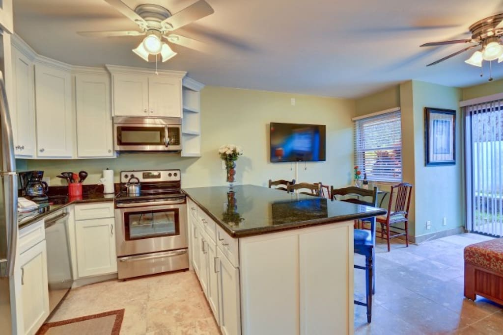 All new (October 2014) Full Sized Stainless Appliances