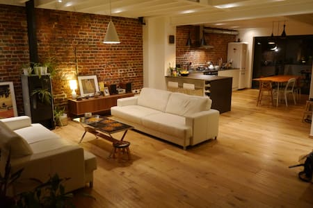 Contemporary loft - hip area