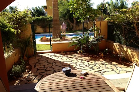 Pretty one bedroom garden flat. - Xàbia - Appartement