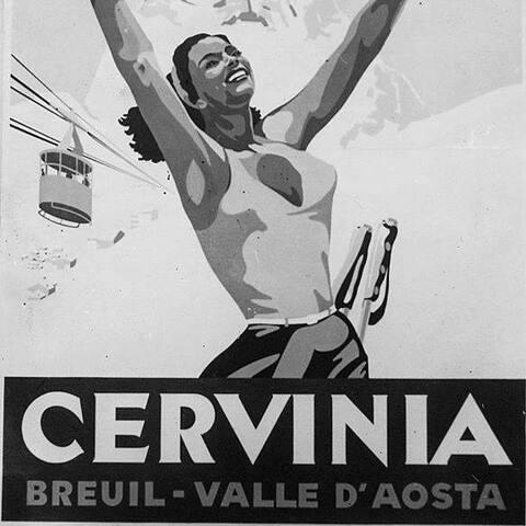 Cervinia winter logo