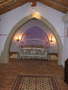 La Suites lilla del B&B Polirone - San Benedetto Po - Bed & Breakfast