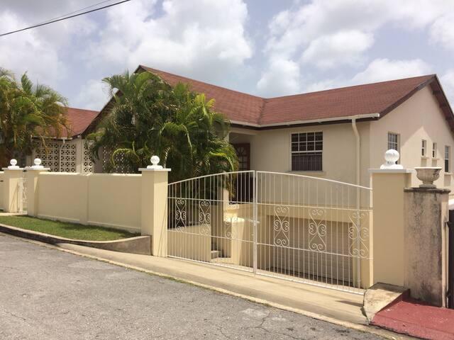 West Coast House  Douglas Barbados