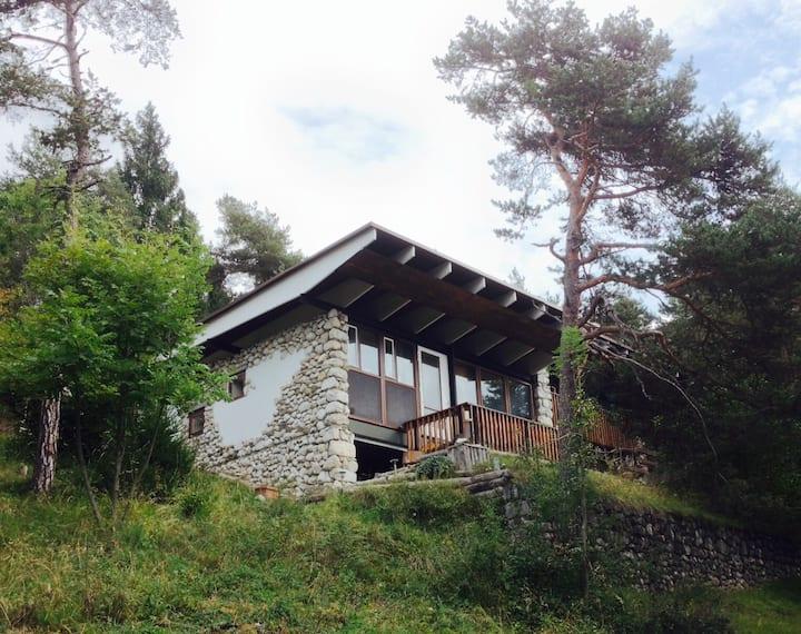Villino panoramico vicino a Cortina