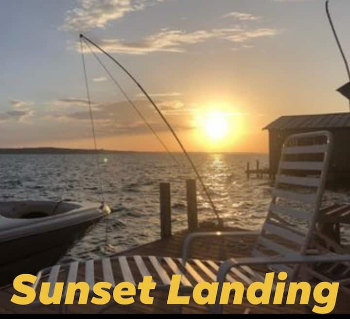 Sunset Landing-  On Wheeler Lake/Tennessee River