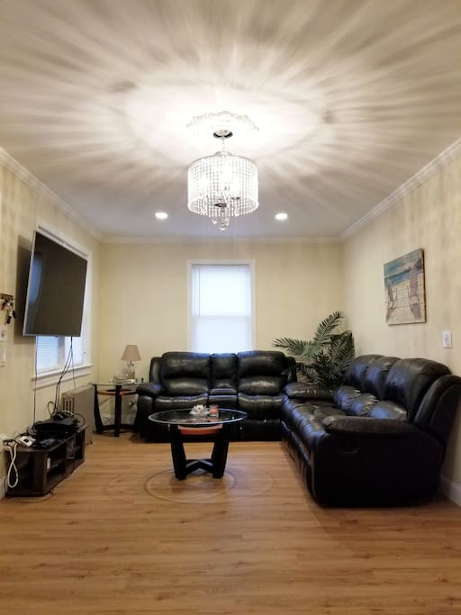 Entertainment Area in Living Room