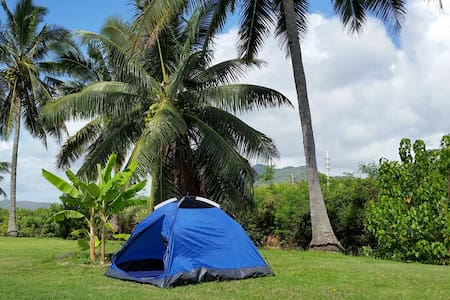 Space #5 -Old Kapaa Town Campground