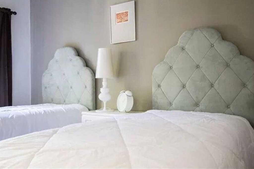 Exquisite beddings in every bedroom