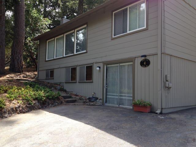 Beacon Hill, a quiet redwood home, (upper)
