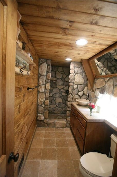 cool rock shower
