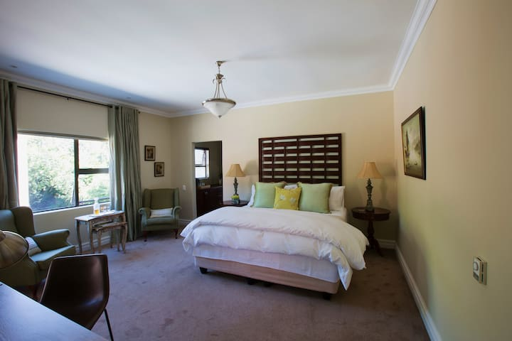The Suite is stylish, spacious and comfortable.