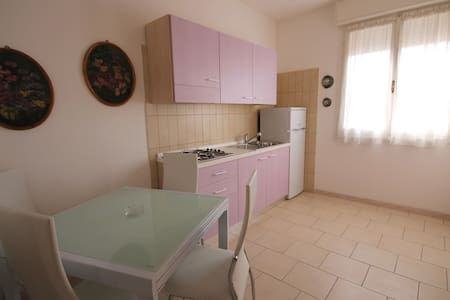 Renovated apt. 150 m from the beach w/ AC