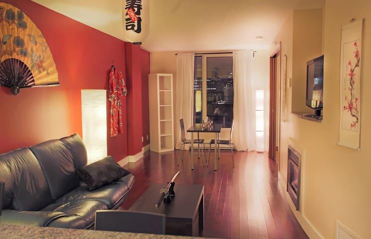 Samurai Suite — Luxury in Heart of Montreal