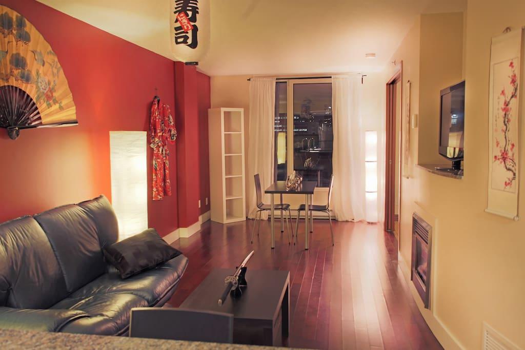 La suite samurai luxe vieux port appartements louer - Appartement a louer vieux port montreal ...
