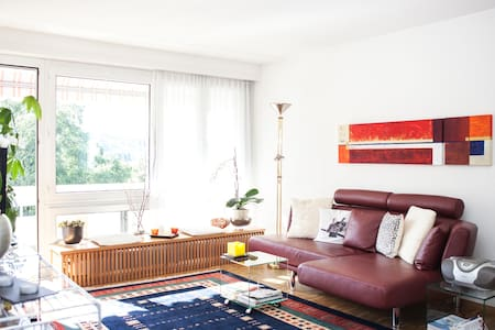 Quiet apartment with lake view. - Horgen - Apartemen