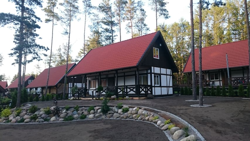 Cottage House in Poland, Pomeranian district