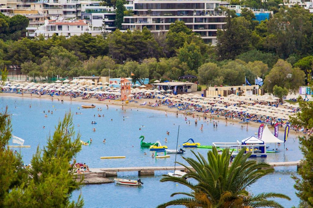 Views - Popular Vouliagmeni Beach