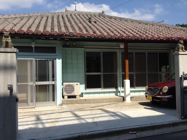 Japanese old share house - Kadena-cho