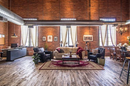 The Forty-O-Five Loft in Ohio City - Cleveland - Loftlakás
