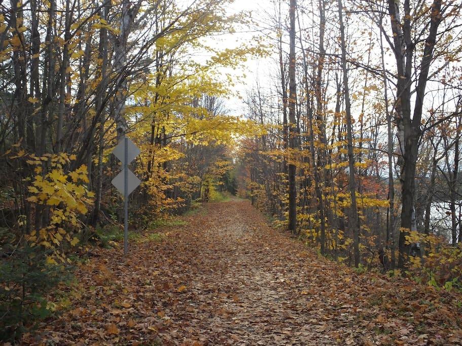 58-km trail known as the Aerobic Corridor
