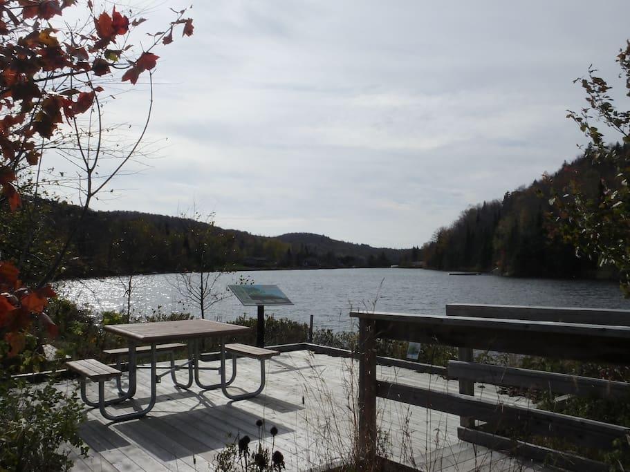 Pavillon Montfort(rent ski, kayaks, snowshoes, etc- Club Kayak Viging)