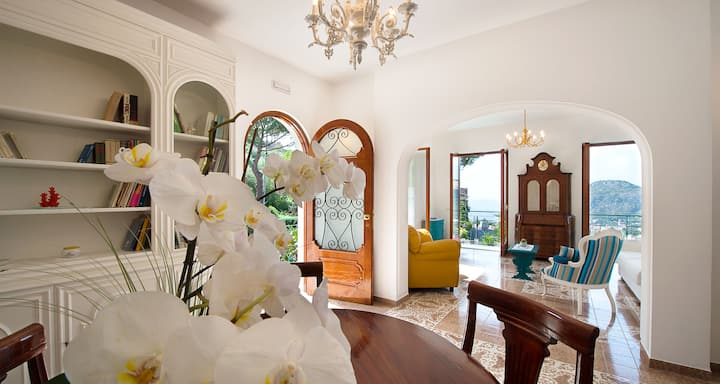 Villa Sole - Sorrento Coast, garden, pool, parking