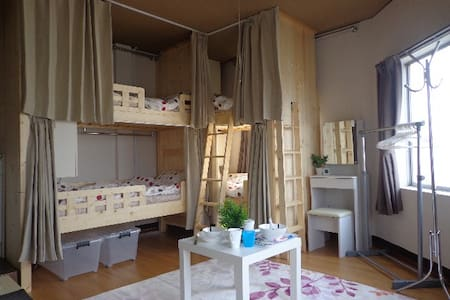 3F wooden cabin style share house, Shin-Osaka - Osaka Yodogawa-ku