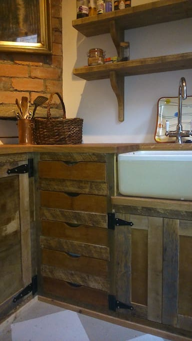 Rustic small but perfect kitchen