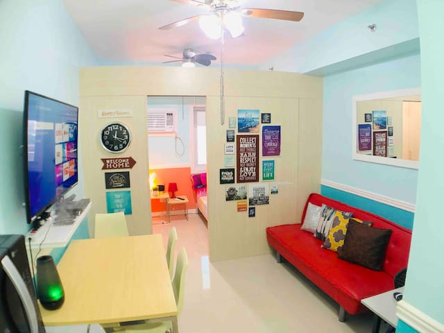 Best Value: 1BR Condo For 4 Pax Beside A Big Mall