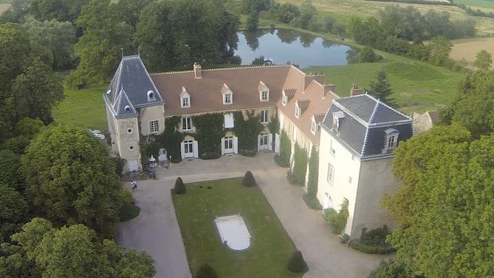 Charme - Château de Saint Agoulin