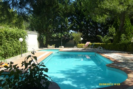 HOLIDAY HOUSE WITH POOL - Torre Santa Susanna - Villa