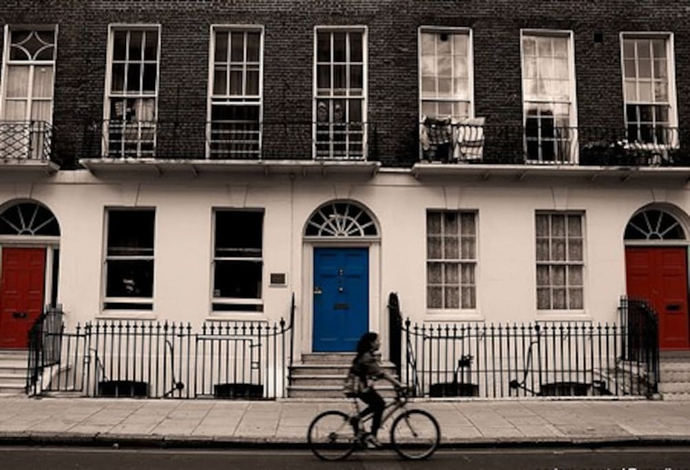 Typical residential West London street