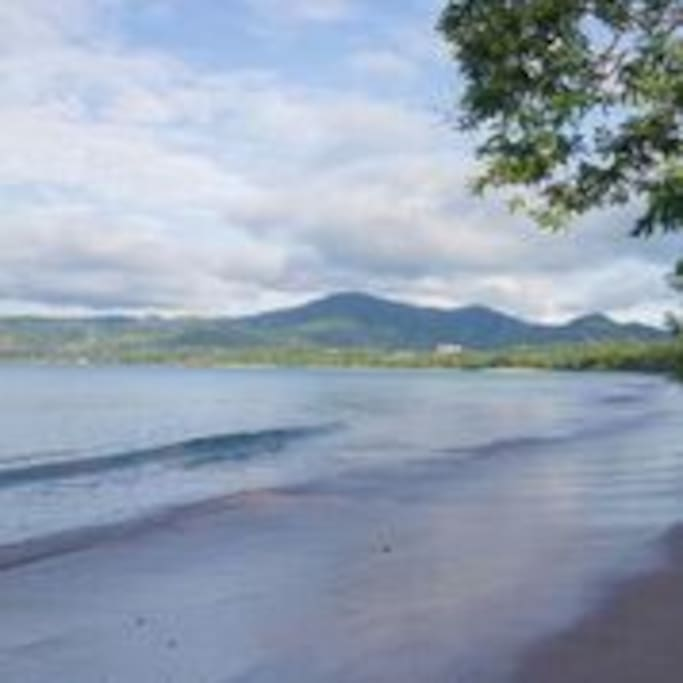 There are 3 beautiful beaches within 10 minutes of Conchal