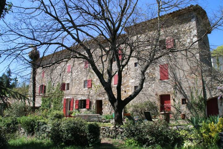 Grand mas cévennol  - Générargues - House