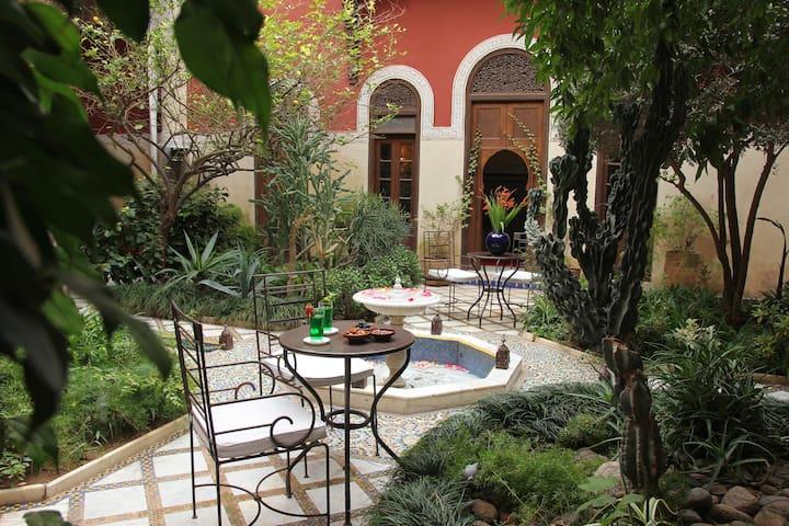 Magnifique Riad a Marrakech - marrakech - Hus