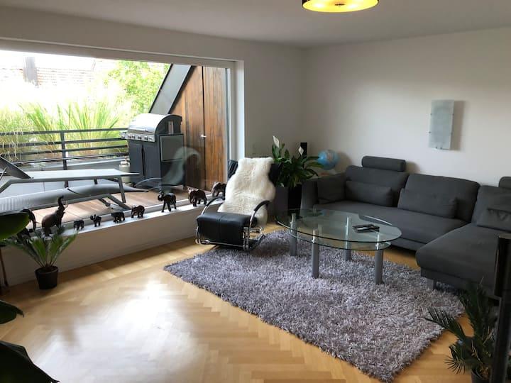 Wohnung in Maxvorstadt mit großen Balkon