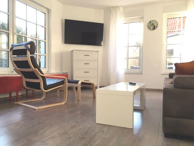 FRISCH MÖBLIERTE WOHNUNG EICHSFELD - Großbodungen - Apartment