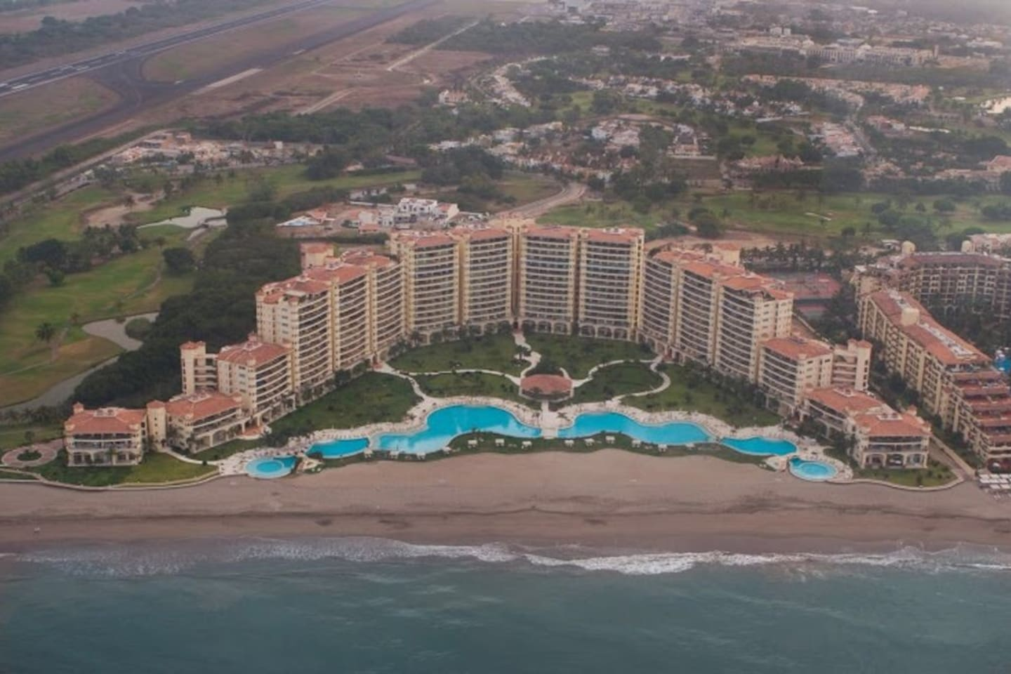 """Aerial View of """"Bay View Grand"""""""