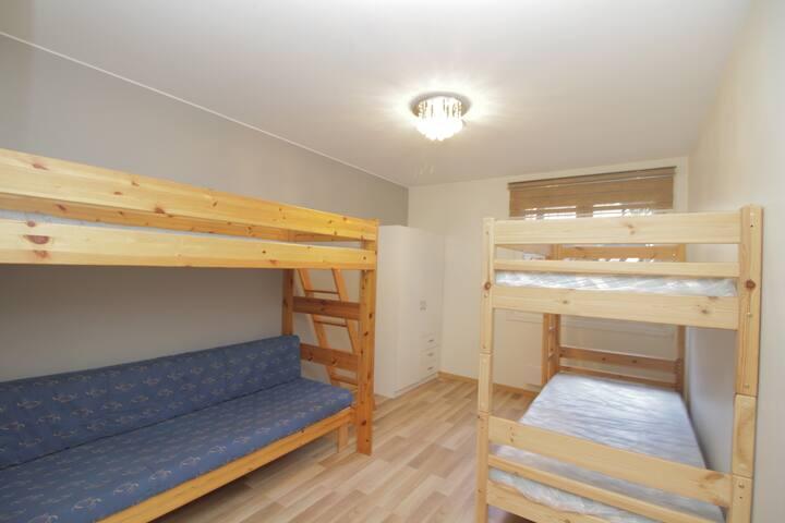 24/7 checkin Hostel near Oslo S - Bed